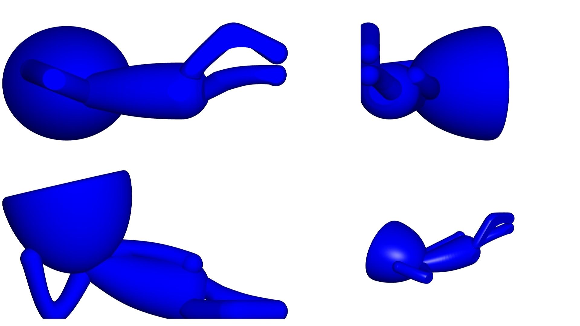 Vaso_10_azul_2.jpg Download free STL file JARRÓN MACETA ROBERT 10 - VASE FLOWERPOT ROBERT 10 • 3D printable object, PRODUSTL56