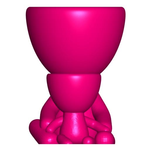 Robert and Hijo _G.png Download free STL file Maceta Robert con hijo / hija - ROBERT PLOT VASE WITH SON / DAUGHTER N ° 112 • 3D print template, PRODUSTL56