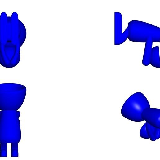 Vaso_05_Azul_2.jpg Download free STL file JARRÓN MACETA ROBERT 05 - VASE FLOWERPOT ROBERT 05 • 3D printer design, PRODUSTL56