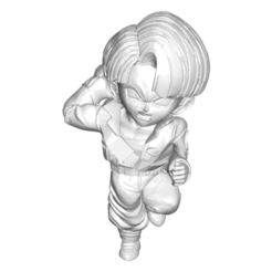 Trunks_Pequeño_1.png Download free STL file DRAGON BALL Z DBZ / MINIATURE COLLECTIBLE FIGURE DRAGON BALL Z DBZ TRUNKS • 3D printer object, PRODUSTL56