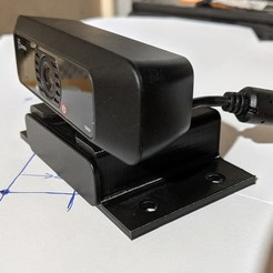 PXL_20201018_123806265.jpg Download free STL file j5 Create JVCU 1000 web cam mount (2 files now as of 10/18/2020) • Design to 3D print, RiggsCasa