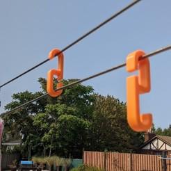 RiggsCasa-Clothesline_Tension_hook (5).jpg Download STL file Clothes Line Tension hook • Object to 3D print, RiggsCasa