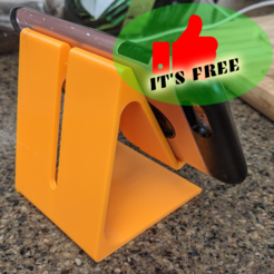 RiggsCasa-mobile_phone_stand (5) (Medium).png Download free STL file Mobile Phone stand FREE • 3D print template, RiggsCasa