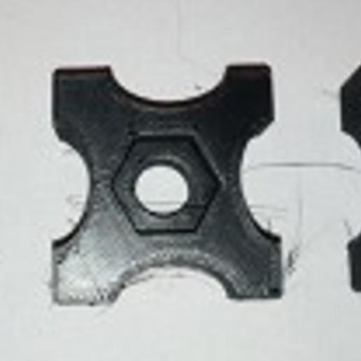 Download free STL file Fins for bolt M6, M8 and M10 • 3D printer model, nobru05