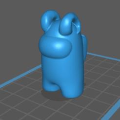 Download STL file Among Us Evil • 3D printing model, InfernalSky
