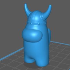 Download STL file Among Us Viking • 3D printable object, InfernalSky