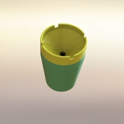 oderlessashtray1.JPG Download free STL file Odorless Ashtray Smokeless/Easy-To-Use • Model to 3D print, shurima2023