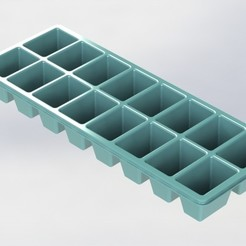 icecubetray.JPG Download free STL file Ice Cube Tray • 3D printer object, shurima2023