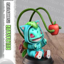 1.png Télécharger fichier STL Bulbasaur ItsBirdy Style • Objet pour impression 3D, Hitsuji