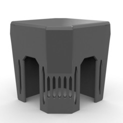 Brutalist_Hab2.jpg Download free STL file Brutalist Hab 28mm • Design to 3D print, AlbrektDurer