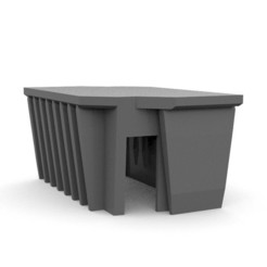 Brutalist_Hab1.jpg Download free STL file Brutalist Hab 28mm • Design to 3D print, AlbrektDurer
