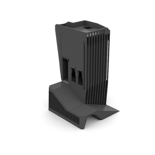 Download free STL file Modular Brutalist Watchtower 28mm • 3D printing model, AlbrektDurer