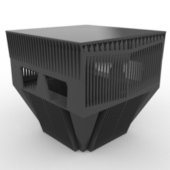 Brutalist_warehouse.jpg Download free STL file Brutalist Warehouse 28mm • Design to 3D print, AlbrektDurer