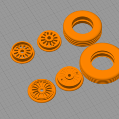 Screen Shot 2020-10-05 at 7.22.28 pm.png Download STL file RC Scale Airliner Wheels and Tyres  • Design to 3D print, DavesRCplanefactory