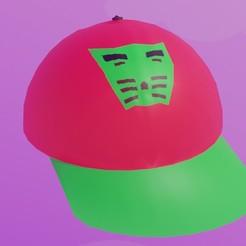 Download OBJ file Street Cap • Object to 3D print, sahaabkhawaja