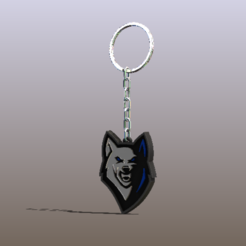 Download STL file Cool Fox Keychain • Template to 3D print, AmeerSohail17