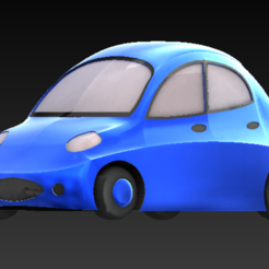 CAR 1.PNG Download STL file Fancy Toy Car • 3D print object, AmeerSohail17