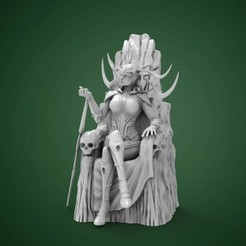 hela-throne-1_980x500.jpg Download STL file Hela on Throne • 3D printing design, Rodman3D