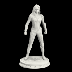 15as.png Télécharger fichier STL Carol Danvers Capitaine Marvel • Plan pour imprimante 3D, Rodman3D