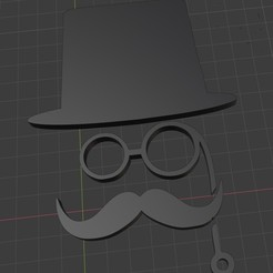 caballero.jpg Download STL file lady and gentleman's bathroom sign • 3D printable model, schwemmergisela