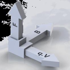 Render1.png Download free STL file Lorentz force vector product • 3D printer model, emilianojan