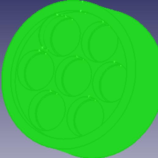 Download STL file Circular soap mould • 3D print design, jesusadrianparmigiani
