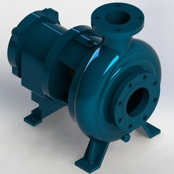 1.JPG Download STL file Centrifugal Pump • 3D print template, rajachandran