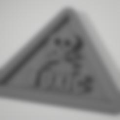 Toxic_posion_warnning_notice_plate.stl Download STL file Toxic warning notice plate ( Poison) • 3D printer design, johnlamck