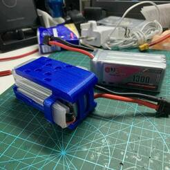 IMG_4326.jpg Download STL file GNB 6S 1300mAh battery protector with top and bottom cover • 3D print design, johnlamck