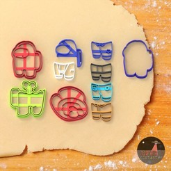 among us 2.81.jpg Télécharger fichier STL Among us Cookie cutter (moule à biscuit) Among Us custom 12 stl • Objet à imprimer en 3D, Ufo_Cortantes