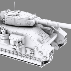 Preview1.png Download STL file Main Battle Tank • 3D print object, michaelallenhoward
