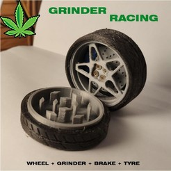 00 PRIMERISIMA DE UNA.jpg Download STL file Grinder racing • 3D print object, Turbo3D