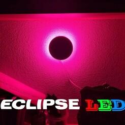 0.jpg Télécharger fichier STL Lampe d'éclipse • Design imprimable en 3D, Turbo3D