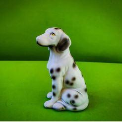 1.JPG Download STL file Dalmatian dog figure • 3D printing design, Turbo3D