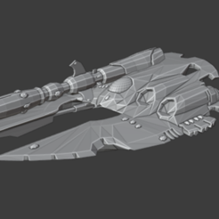 cobra.PNG Download free STL file 6mm Space Elf Heavy Tank • 3D printable object, QM3D