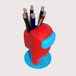 2.jpg Télécharger fichier STL Parmi nous, porte-plume ou pot à plantes • Design pour imprimante 3D, M3DLOCKER