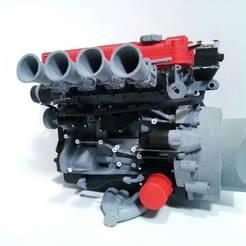 45032.jpg Télécharger fichier STL VTEC ENGINE 1/5 • Objet pour imprimante 3D, M3DLOCKER