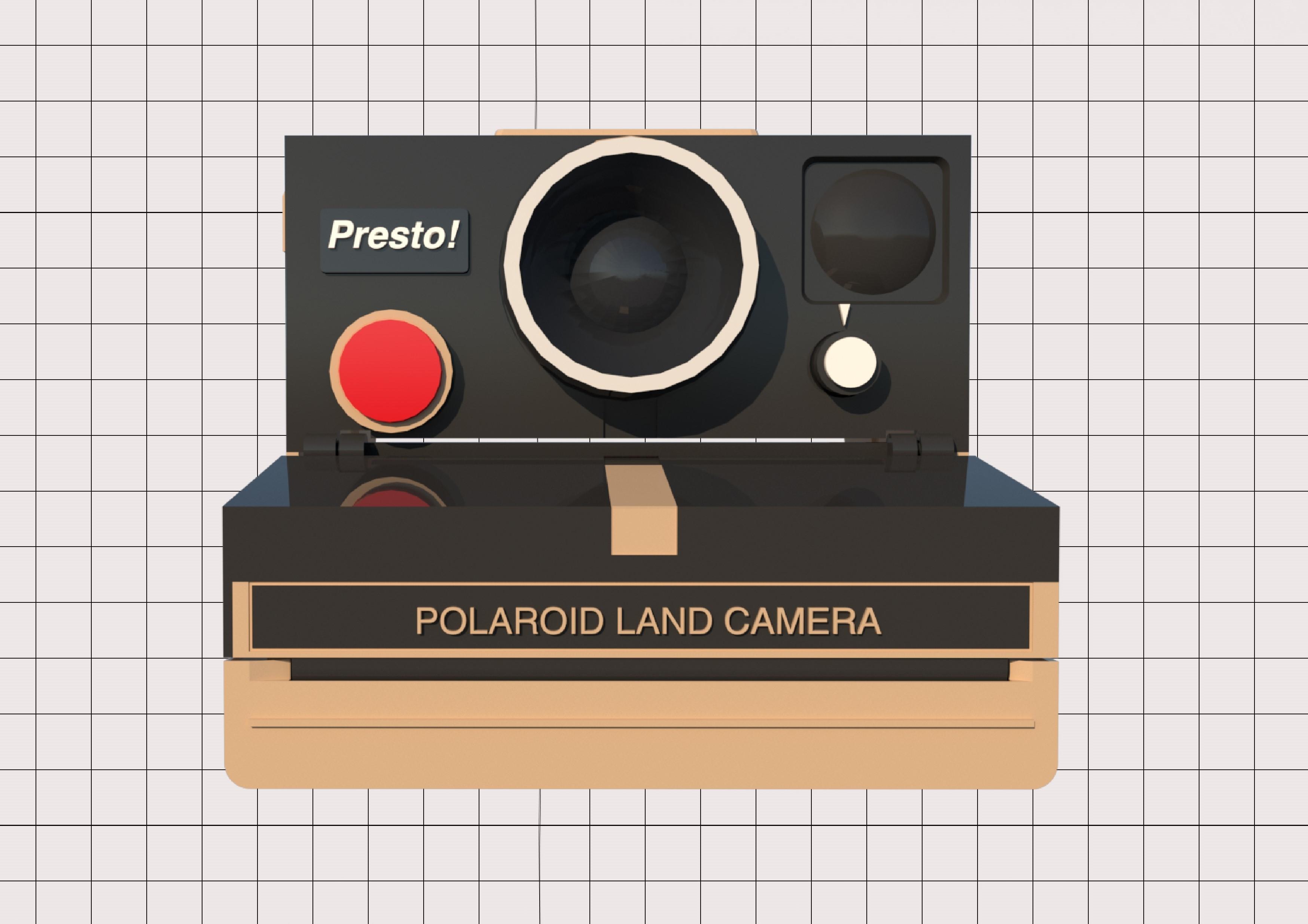 4.jpg Télécharger fichier STL Porte-papier hygiénique Polaroid (couvercle*) • Design pour impression 3D, M3DLOCKER