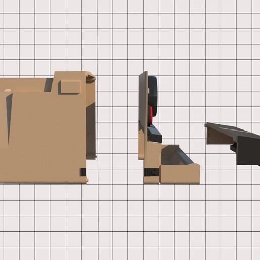 2.jpg Télécharger fichier STL Porte-papier hygiénique Polaroid (couvercle*) • Design pour impression 3D, M3DLOCKER
