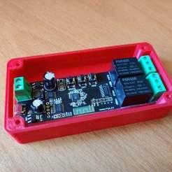 IMG_20200806_140734.jpg Télécharger fichier STL gratuit Boîtier pour relais intelligent à 2 canaux • Modèle pour impression 3D, Deses