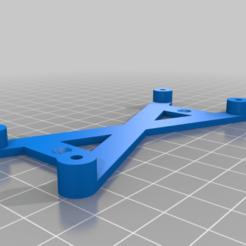 brook_v7.png Download free STL file Wood mount for Brook Fighting Board • 3D printing template, Deses