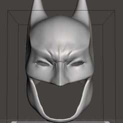 BATMAN COWL2.JPG Download STL file Batman Cowl for Cosplay • Template to 3D print, pstark