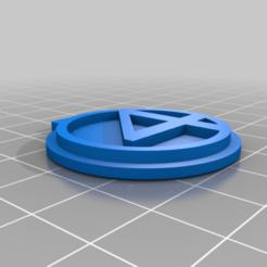 Fantastic_Keychain.png Télécharger fichier STL gratuit Fantastic 4 Keychain • Objet pour imprimante 3D, LeVazquez