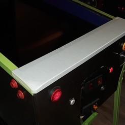 20201008_110301.jpg Download STL file Custom Widebody Pinball Lockdown Bar • 3D printing model, restorelibertytoday