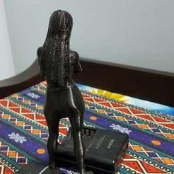 AnnoyedLady5.jpg Télécharger fichier 3MF gratuit Une dame ennuyée qui attend • Objet imprimable en 3D, okMOK
