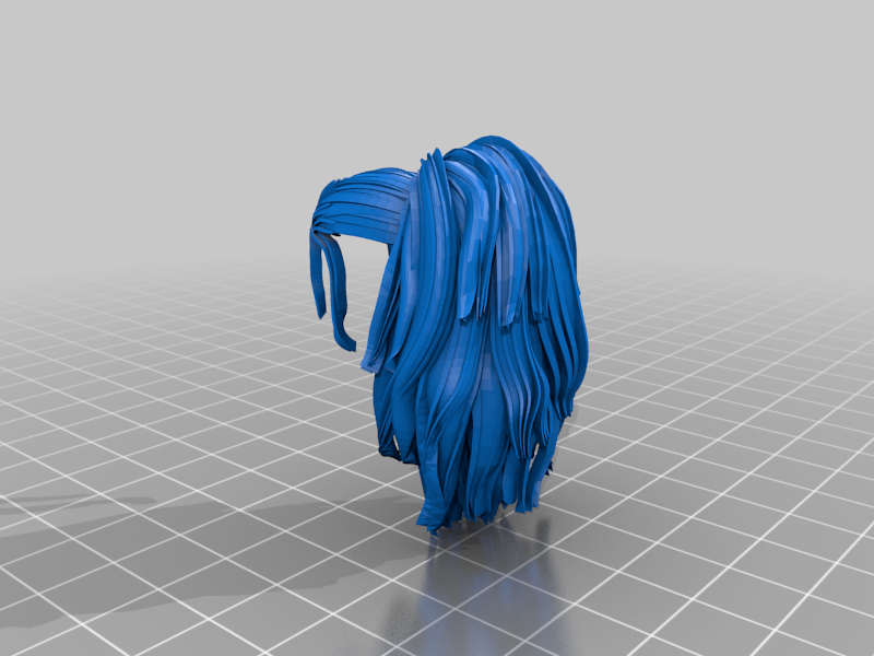 scavangerHairEXP-STL.png Télécharger fichier STL gratuit Elf Bust - Une expérience pour des parties séparées • Plan pour imprimante 3D, okMOK