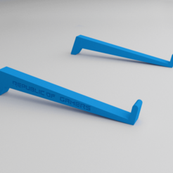 Soprte01.png Télécharger fichier STL Soutien aux joueurs sur ordinateur portable • Modèle imprimable en 3D, germanbritez