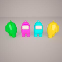 am02.png Télécharger fichier STL Porte-clés entre nous • Plan pour impression 3D, germanbritez