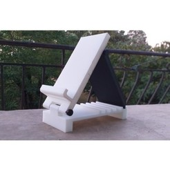 20190912_072505.jpg Télécharger fichier STL gratuit Support pour téléphone ajustable ! • Modèle pour imprimante 3D, FerstDimitri