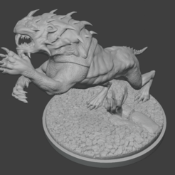 untitled.png Download free STL file Caragor from Middle Earth Vidogame • 3D print template, anvilcrafter